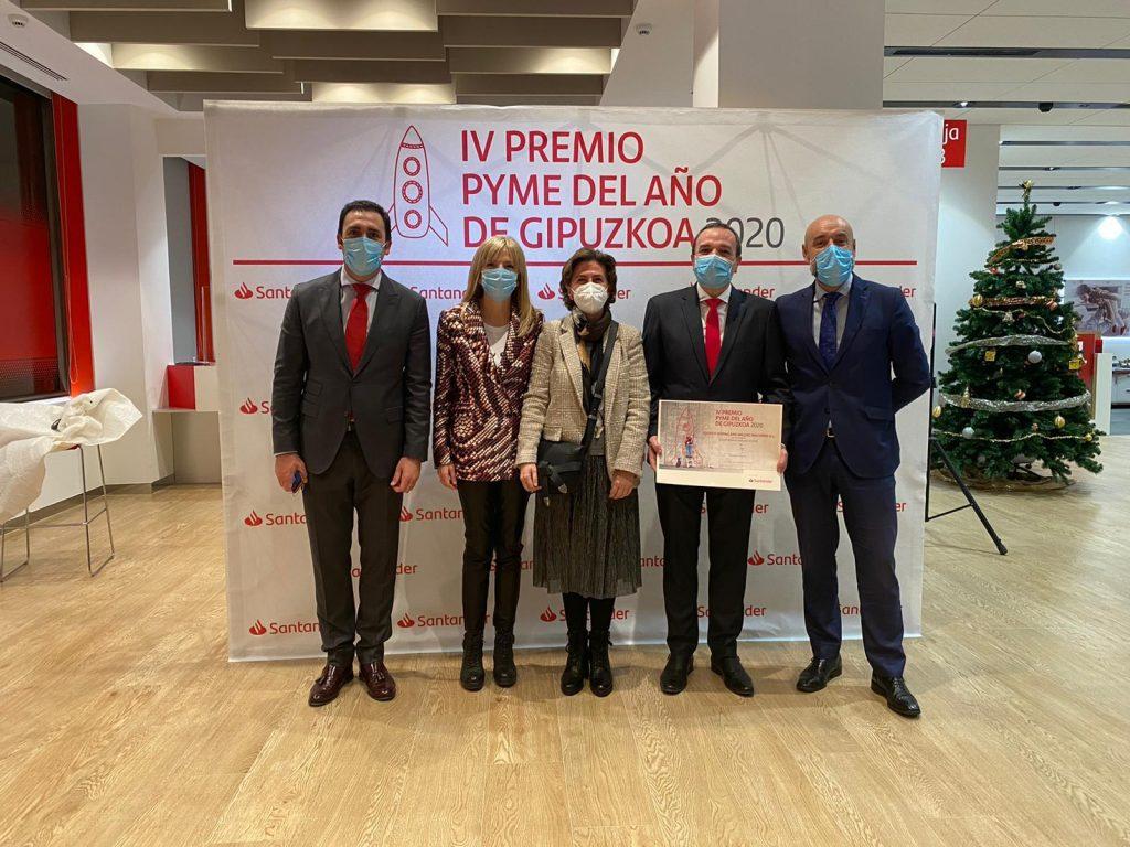 Premio Pyme del año Gipuzkoa Internacionalización